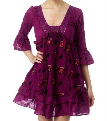 Taradiddle dree dress, royal