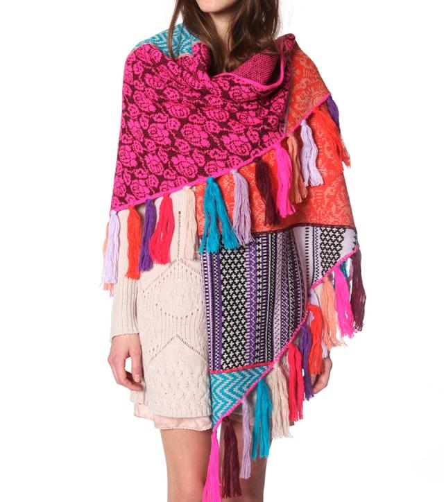 Sechura knit scarf