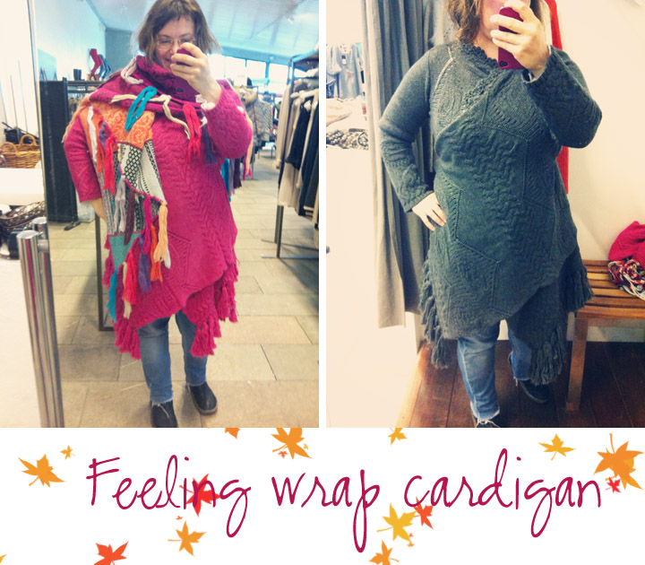 feeling wrap cardigan