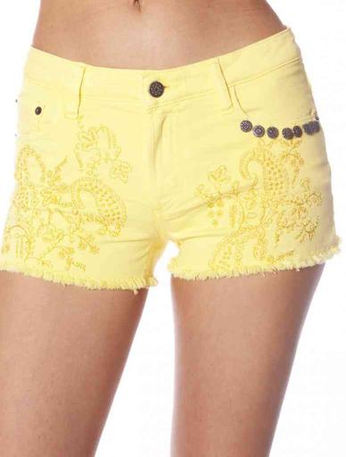 drawer twill shorts