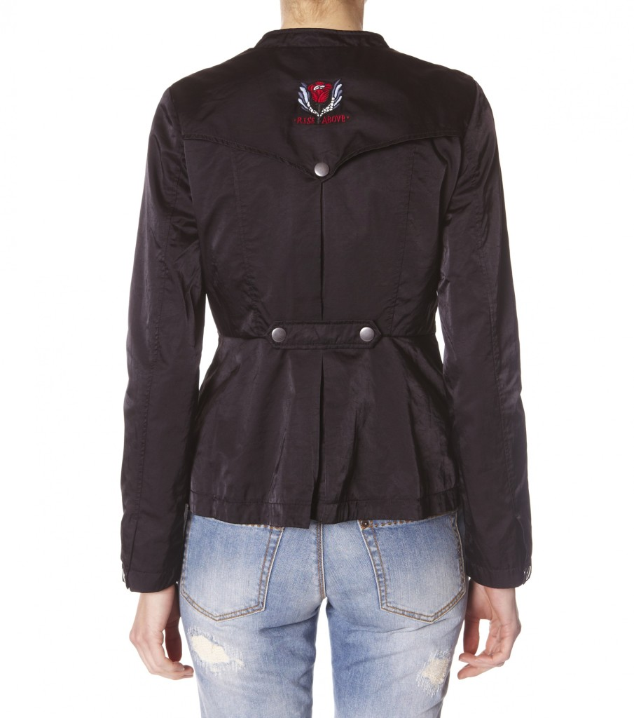 natural nylon jacket