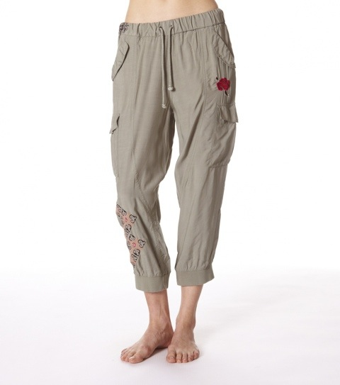 City campers cropped pant
